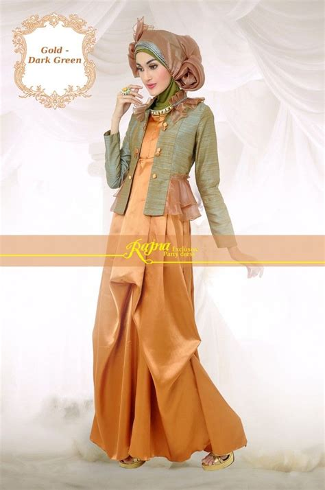8 best gamis pesta syar i images on muslim dress and styles