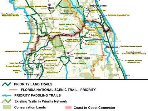 florida trail maps florida bike trail map quotes