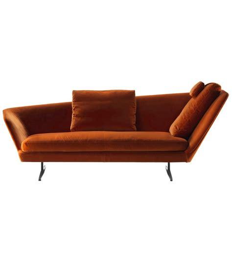flexform couch zeus oblique backrest sofa flexform milia shop