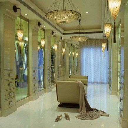 Dressing Room Chandeliers Luxe Dressing Room Check Out Those Chandeliers Beautiful Custom Closets Designs