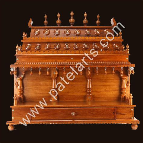 wooden temple mandir home indian design small wooden