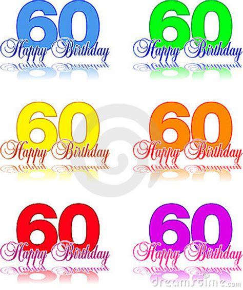 Motorradfahren Mit 60 Jahren by Gelukkige Verjaardag 60 Royalty Vrije Stock Afbeeldingen