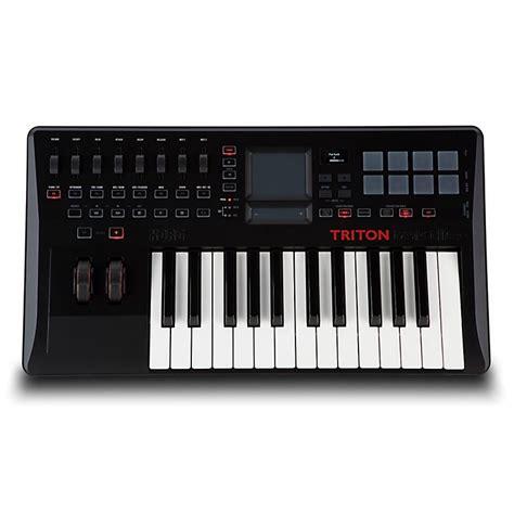 Keyboard Controller Korg korg triton taktile 25 key keyboard synth controller w