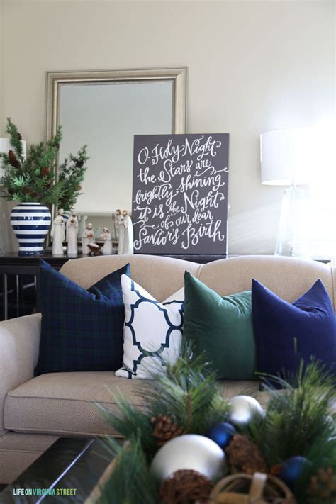 Holiday Home Tour Details with Home Decorators   A