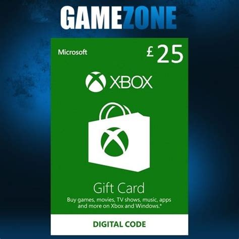 Xbox 360 Gift Card Template by Microsoft Xbox Live 163 25 Gbp Uk Gift Card Points Pounds For
