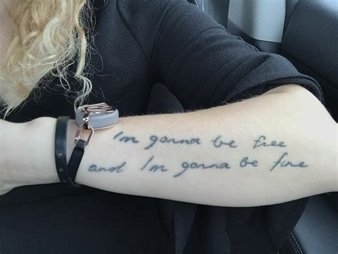florence and the machine tattoo my in flo s handwriting