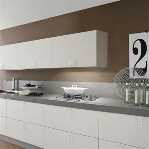 maniglie cucine cucina lineare moderna maniglia cromata offerta
