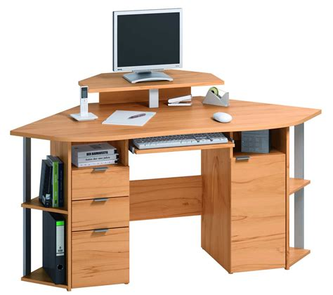 Home Office Computer Desk Furniture Compact Corner Computer Desk For