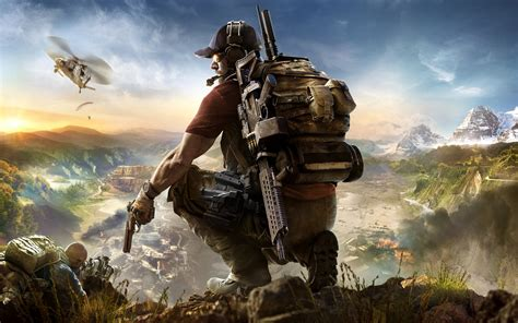 Wallpaper 2017 Games, HD, Tom Clancy's, Ghost Recon ... Games Wallpaper Hd