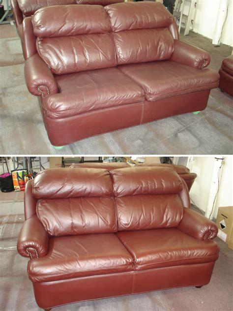 resurface leather sofa leather furniture repair leather repair service leather