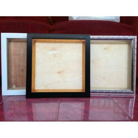 Bingkai Bok 3d Mahar Uk 30x40cm bingkai frame pigura box 3d uk 20x20 total 27 5x27 5 cm