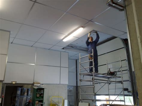 Acoustique Plafond by Traitement Acoustique De Magasin Cometac Installation