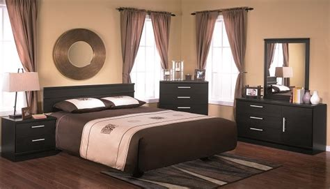 black bedroom suite 203 series ebony bedroom suite in black stipple brand