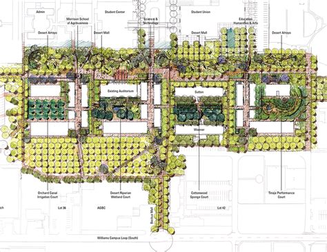 Small Floorplans by Asla 2012 Professional Awards Arizona State University