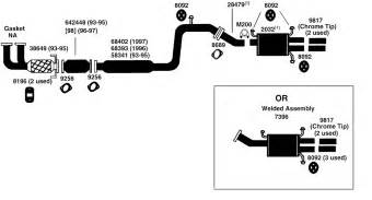 Mazda 626 Exhaust System Diagram Mazda 626 Exhaust Diagram From Best Value Auto Parts