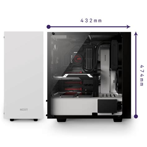 nzxt s340 fans s340 elite mid tower product overview nzxt