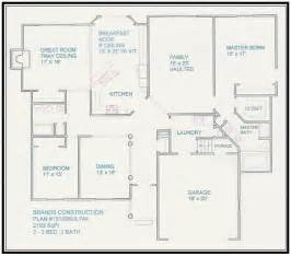 Free Floor Plan Free House Floor Plans And Designs Floor Plans For Ranch Homes Building Plans