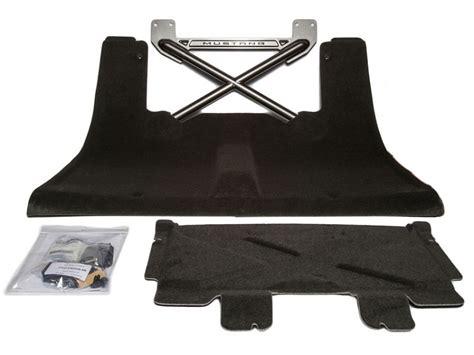 mustang rear seat delete kit 2005 2014 mustang rear seat delete kit