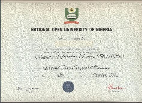 Nigeria Mba Programs by National Open Of Nigeria Noun Students