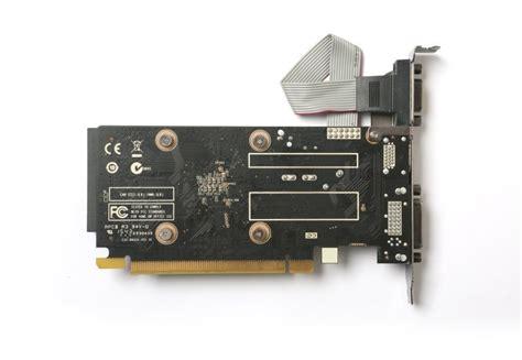 Vga Card Pci Express 2gb Zotac Geforce Gt 710 2gb Ddr3 Vga Dual Link Dvi Hdmi Pci E