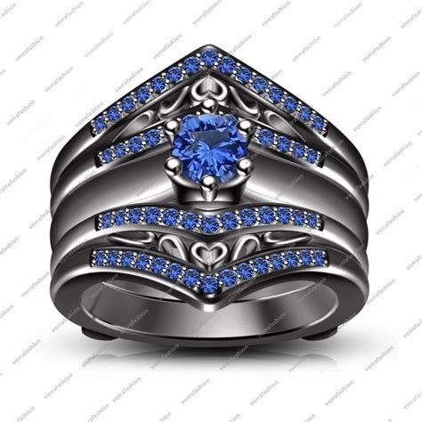 Royal Blue Sapphire 832 87 best blue sapphire engagement rings white gold images
