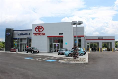 Toyota Dealers Ny Fox Toyota Scion Subaru Car Dealership In Auburn Ny 13021