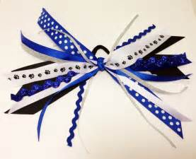 ribbon for hair that says gymnastics paw pony o cheer hair bow ribbon streamers wildcat