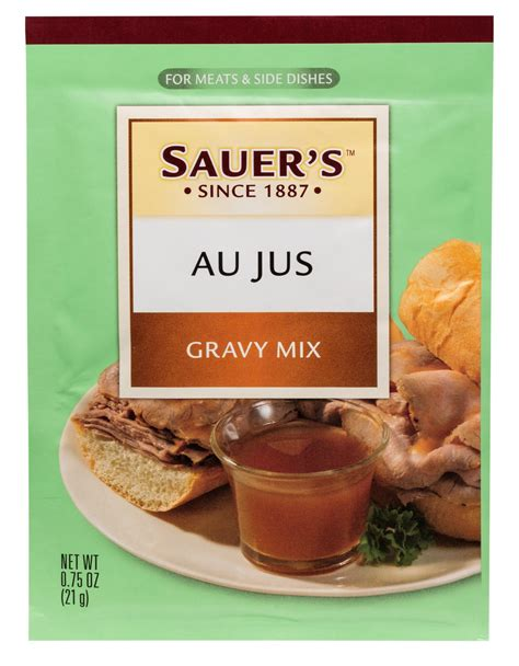 Mixer Jus au jus gravy packet