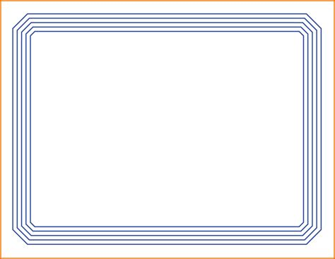 free certificate border templates for word certificate borders for word free certificate border doc
