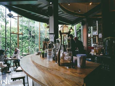 gaya desain interior kedai kopi  kota bandung