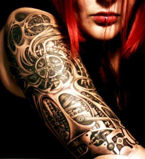 Biomechanical Tattoo On Girl | 25 best ideas about biomechanical tattoo design on