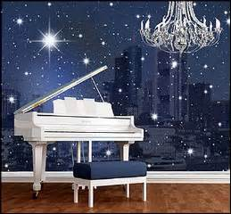Beautiful starry design creates a cozy atmosphere for the star studded