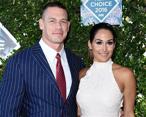 nikki bella and john nikki bella and john cena get engaged at wrestlemania