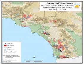 current southern california map ca oes socal 2007