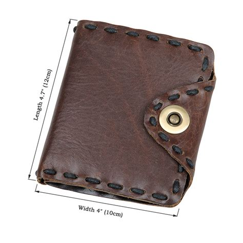 Handmade Pocket - handmade leather wallet pocket purse