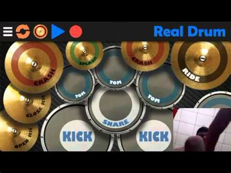 real drum app tutorial full download coldplay in my place real drum apps cover