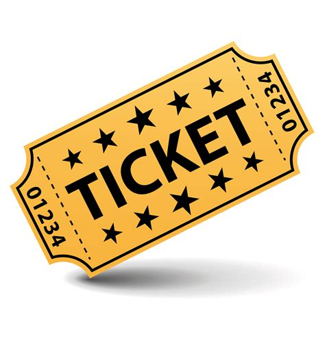 Ticket Clipart raffle ticket clipart