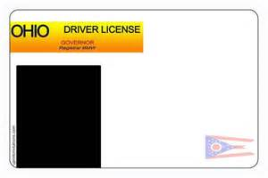 Ohio Drivers License Template by Driver S License Birthday Invitations All States