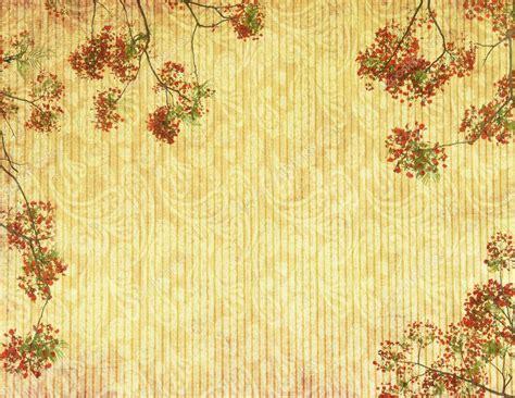 imagenes de otoño vintage flores de pavo real en 225 rbol con fondo antiguo papel