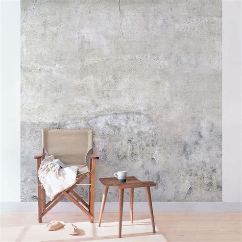 raumgestaltung wohnzimmer tapete betonoptik shabby betonoptik tapete vliestapete