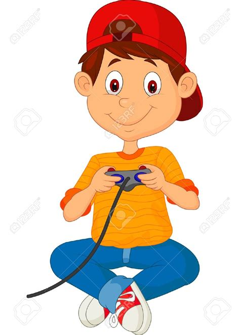 Home Designer Game children playing video games clipart 66