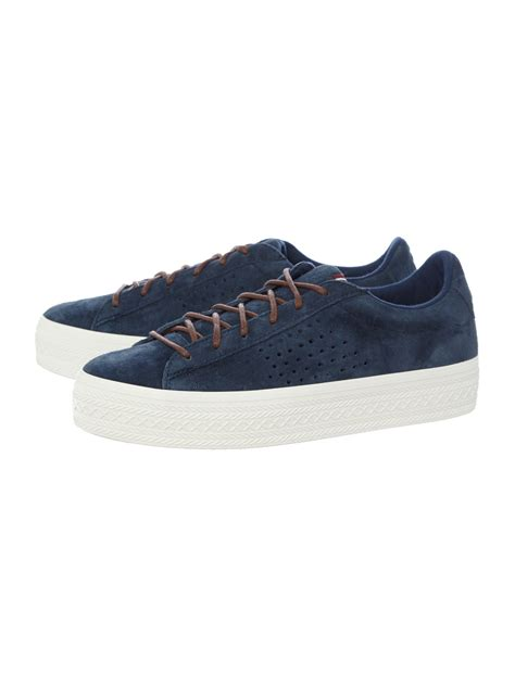 le coq sportif agate tennis shoes in blue for lyst