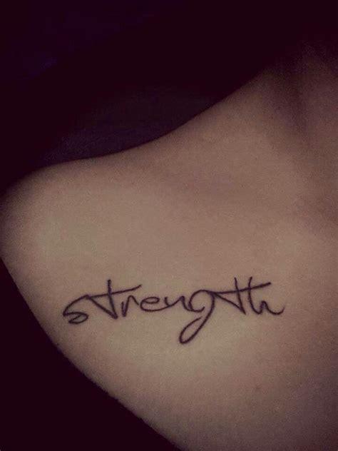 tattoo fonts dainty strength tattoos strength and tatting