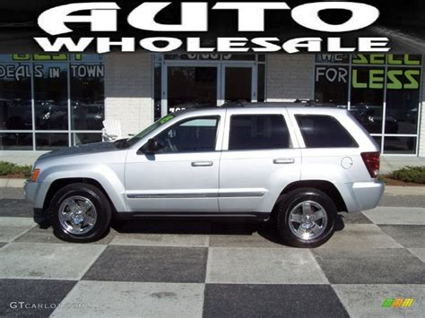 2005 grey jeep grand cherokee 2005 bright silver metallic jeep grand cherokee limited