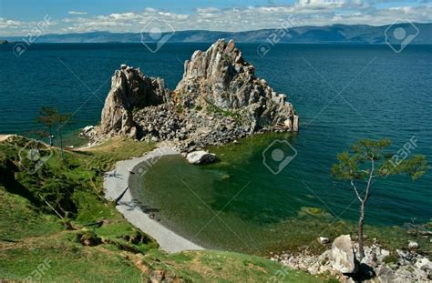 Lake With An Island Mystery the gallery for gt lake baikal mystery
