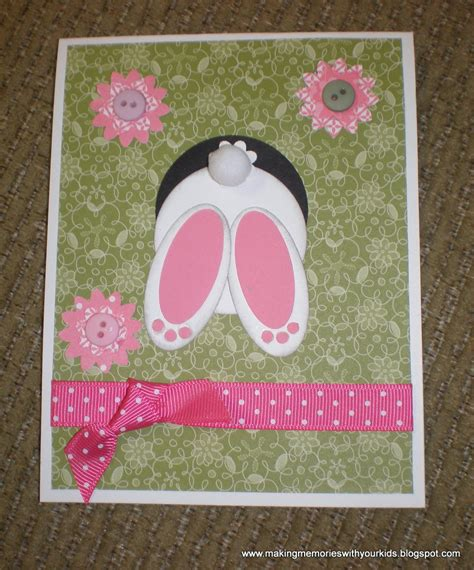easter card ideas to make easter cards memories with your