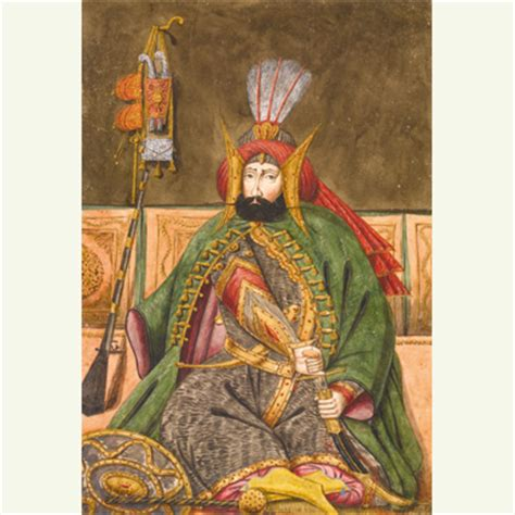 Ottoman Sultans Cornucopia Magazine Sotheby S Arts Of The Islamic World 2014