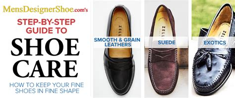 shoe care guide mensdesignershoe