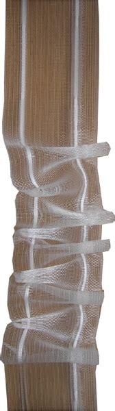 gardinenband zum bugeln der rote faden gardinenband smokband transparent 42mm