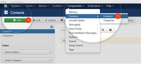 How To Create Joomla Contact Joomla Templates And Extensions Provider How To Create Joomla Template